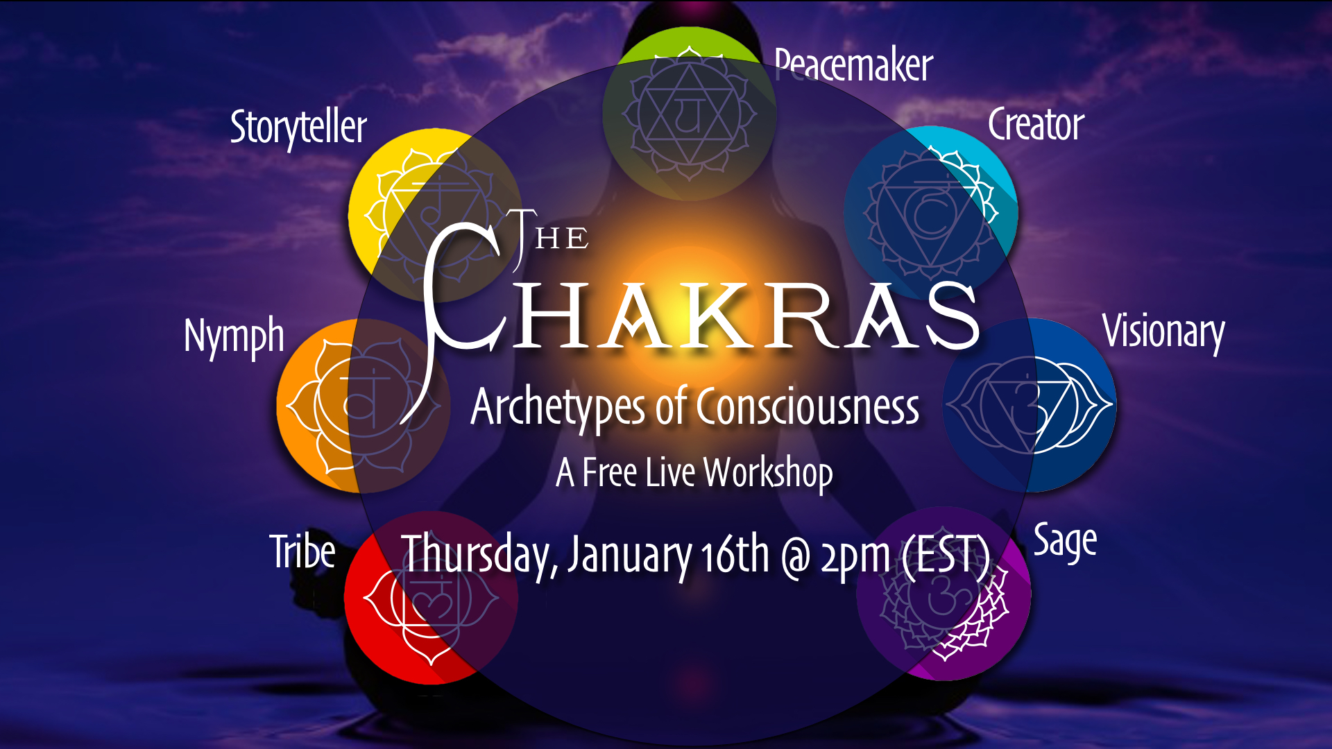 GP Walsh - The Chakras